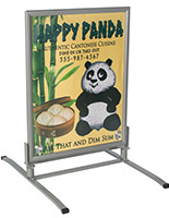 "30""x40"" Weatherproof Sandwich Board , Double-Sided"