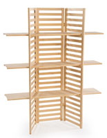 Wooden Display Rack