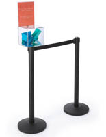 8.5 x 11 Header Ballot Box Stanchion Topper