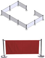 Red Cafe Barrier Configuration