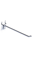 "6"" Chrome Peg Hooks- Steel Wire"