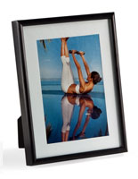 Matted Picture Frame for Table or Wall