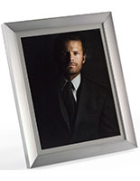 "5"" x 7"" Matted Photo Frame for Tabletop or Wall Mount Use"