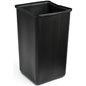 36 Gallon Rigid Plastic Liner for Compatible Trash Receptacles