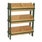 Wood Crate Stand with 3 Tiers