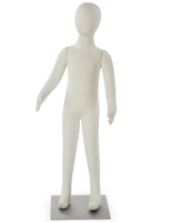 White Adjustable Child Mannequin
