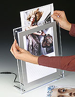 backlit picture frames