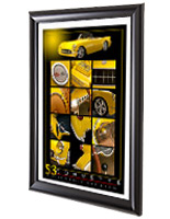 cheap poster frames lightweight extruded plastic