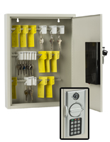 Digital Key Cabinet with Marker Tags