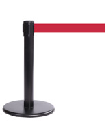 Mini Exhibit Stanchion, Stainless Steel Construction