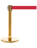 "24"" Museum Stanchion with 4 Way Connector"