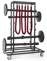 Durable Stanchion Storage Cart