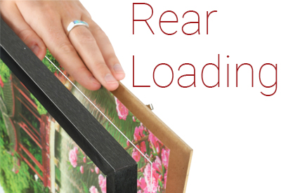 rear loading poster framing