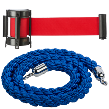 replacement bets and ropes for stanchions