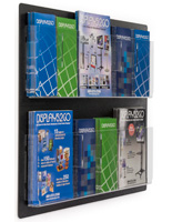 Adjustable Wall Mount Brochure Holders