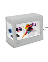Transparent LCD Box for Digital Signage