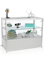 Silver Knock Down Display Counter