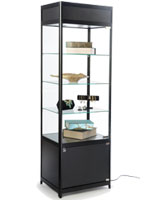 Knock Down Tower Display Case