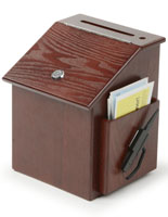 Mahogany Suggestion Box