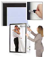 Metal Swinging Poster Hanger