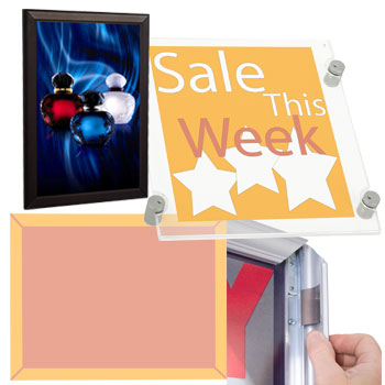 Poster Frames and Light Boxes