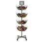 Spinning 4 Tier Basket Stand