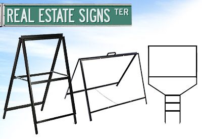 Frames for Real Estate and Yard Applications