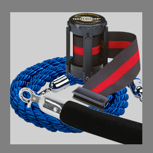 replacement stanchion ropes and stanchion belts