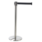 Steel Silver Stackable Stanchion