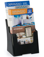 Countertop 6.5x8 Two Tier Leaflet Holder