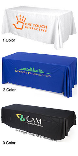 Table Skirts - STP8 Printed Table Covers