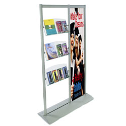 magazine rack set-up