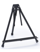 Black Aluminum Table Easel