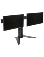 Dual Screen Monitor Stand, Aluminum