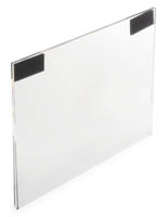 "Acrylic Sign Frame for 11"" x 8.5"" Posters"