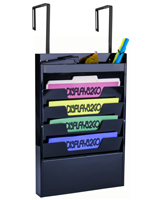 Cubicle Hanging File Organizer, Fits Letter Size