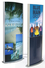 Advertising Displays for Posters & Brochures