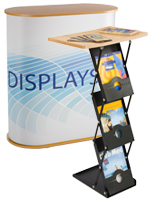 portable tables and podiums for trade shows