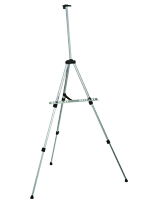 Silver Telescoping Easel Made with Aluminum