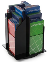 Rotating Brochure Holder