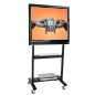 Wheeled TV Cart