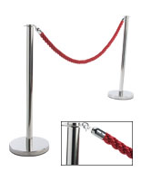 Red Theater Rope with (2) Posts