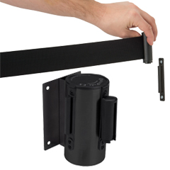 Wall Mount Belt Barriers