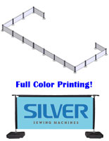 Advertising Banner Stanchion