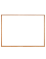 Wood Framed Whiteboard for Dry Erase Markers