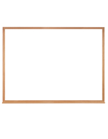 Wood Framed Whiteboard with Natural Finish
