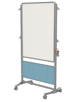 Double Sided Whiteboard Easel