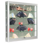 Wall LED Display Cabinet, 2.5 Watt Bulbs