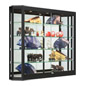 Wall Mounted LED Display Case for Jewlery