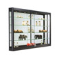 "LED Wall Showcase Cabinet, 60"" Wide"